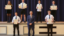 Celebrating Success at Wallace Hall Academy