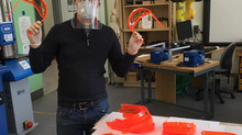 Wallace Hall Academy Manufactures Personal Protective Equipment (PPE) for NHS in Dumfries and Gallow