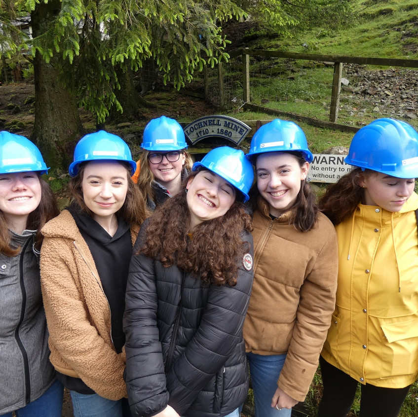 Erasmus visit Wanlockhead mining museum.