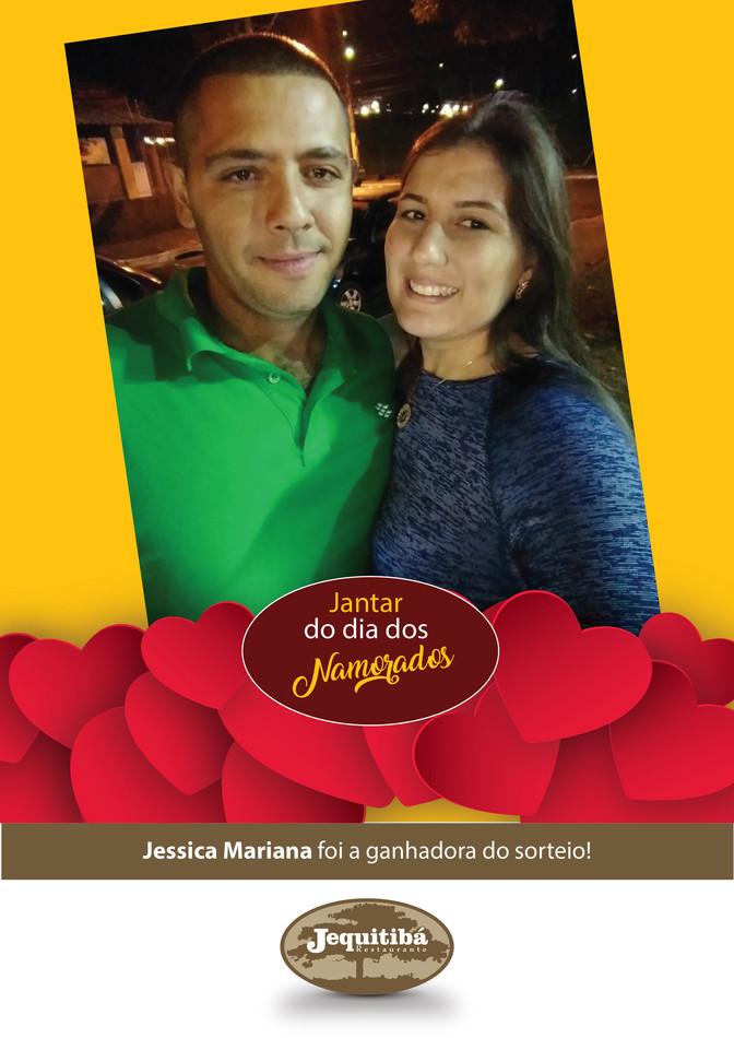 A Jessica ganhou e curtiu um jantar romântico inesquecível!