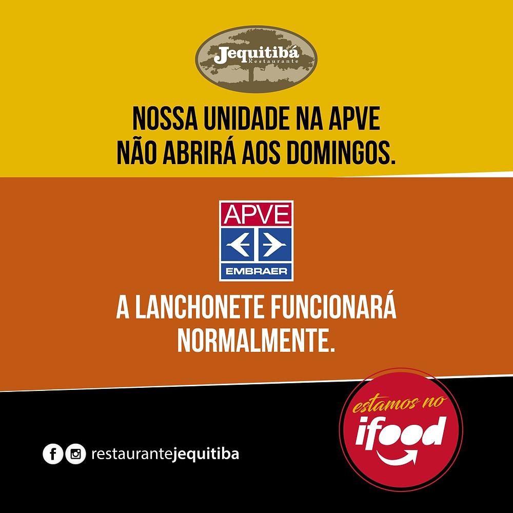 Restaurante Jequitibá - unidade APVE