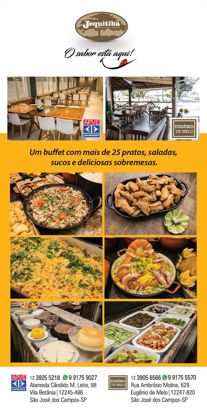 Um buffet variado e delicioso!