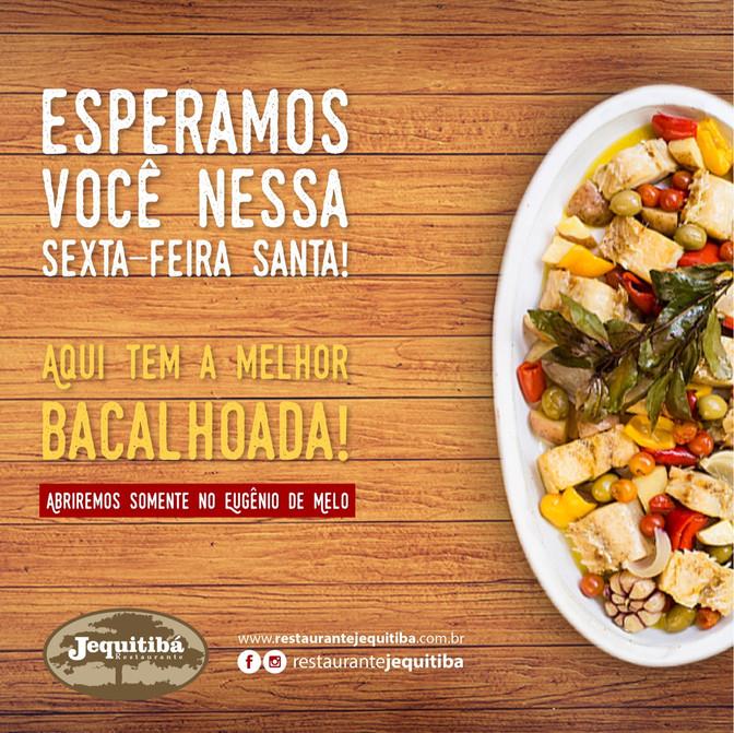 ALMOÇO DA SEXTA-FERIA SANTA COM UMA DELICIOSA BACALHOADA!