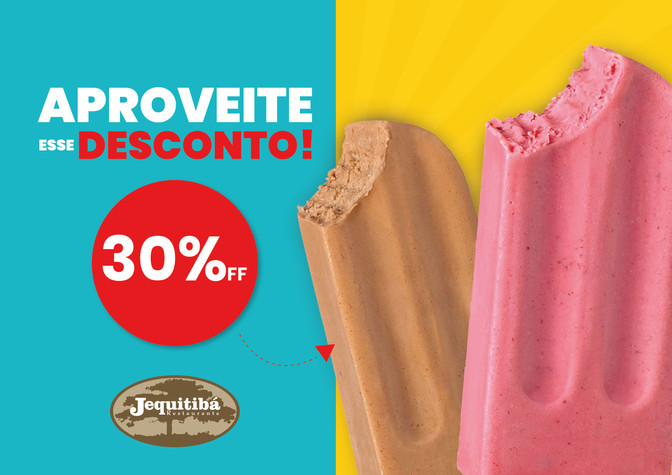 DESCONTO DE 30%OFF
