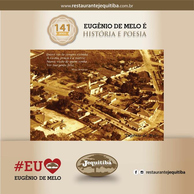 EUGÊNIO DE MELO COMPLETA 141 ANOS DE HISTÓRIA, CULTURA, POESIA E PRESERVAÇÃO!