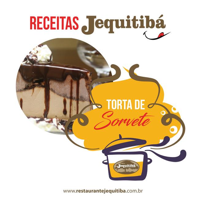 RECEITA DE TORTA DE SORVETE CASEIRA!