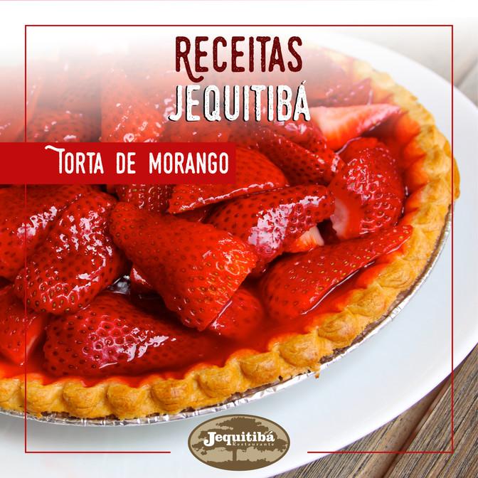 RECEITAS JEQUITIBÁ   TORTA DE MORANGO
