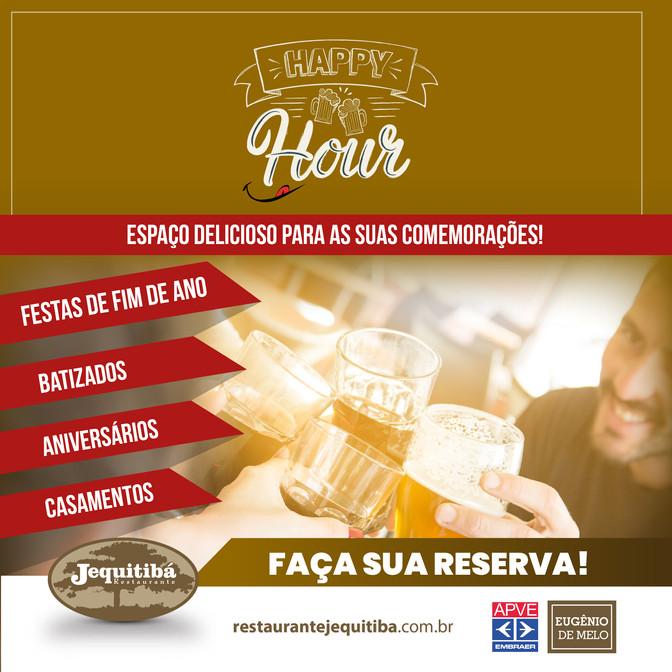 HAPPY HOUR É NO JEQUITIBÁ!