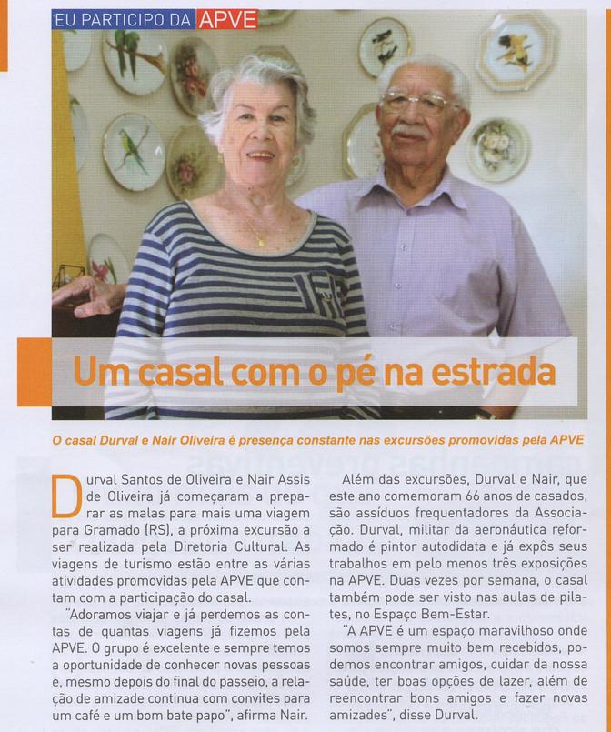 Olha quem saiu na Revista da APVE!