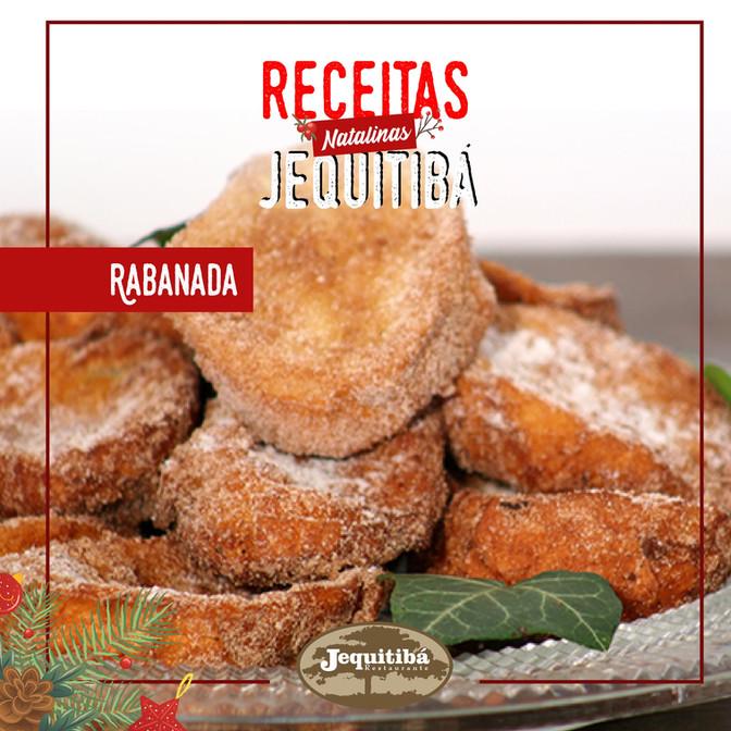 RECEITAS NATALINAS JEQUITIBÁ | Rabanada