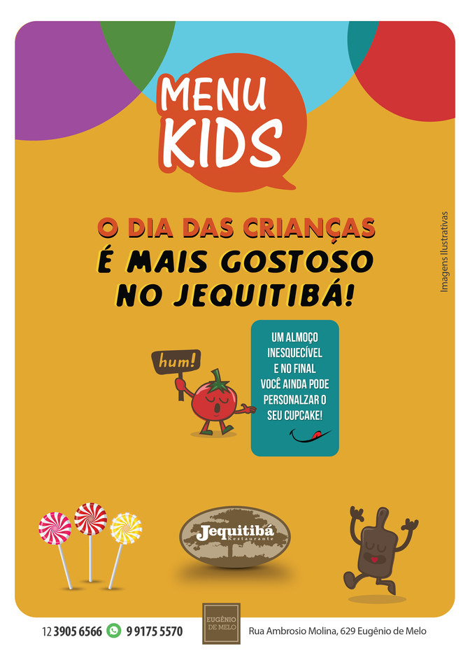 O Dia das Crianças é mais gostoso no Jequitibá!