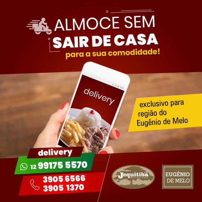 ALMOCE SEM SAIR DE CASA!