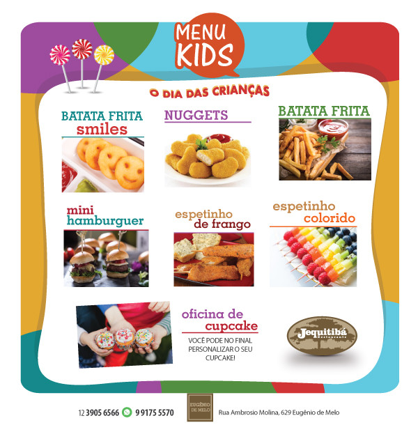 MENU KIDS JEQUITIBÁ