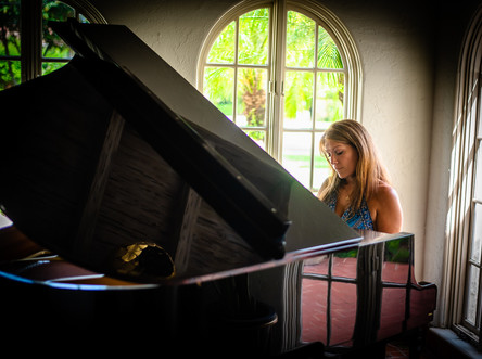 Orlando Musicians - Rachel Webb - Grand Piano - Photography by Matt Keller Lehman