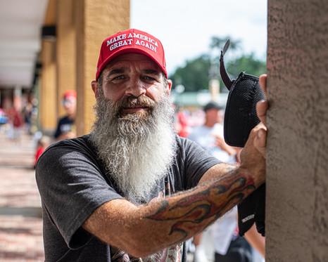 Trump Rally 2020 - Candid Photography - Photography by Matt Keller Lehman