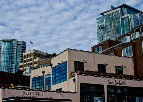 Downtown Seattle, Washington Architecture Photo - Photography by Matt Keller Lehman