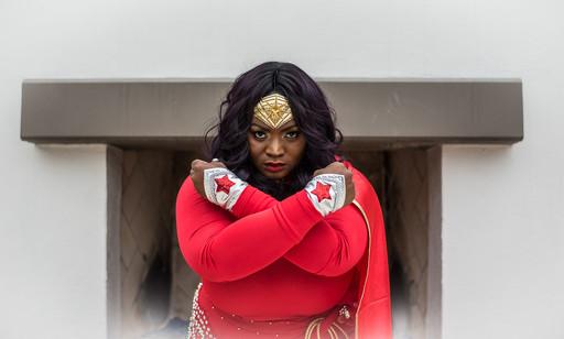 Cosplay Wonder Woman Event Portrait Photo - Photography by Matt Keller Lehman