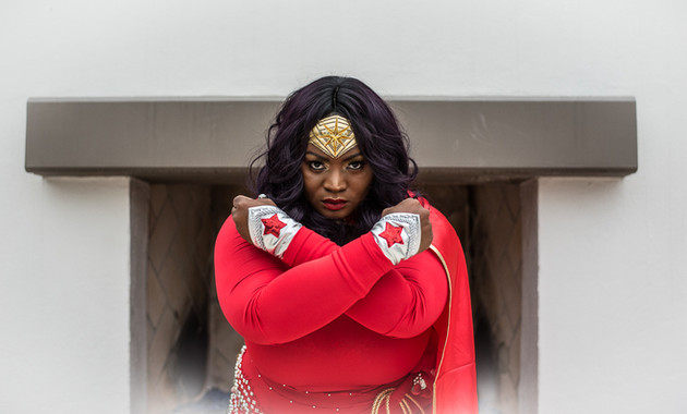 Cosplay Wonder Woman Portait - Photography by Matt Keller Lehman.