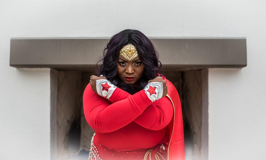 Cosplay Wonder Woman Portait - Photography by Matt Keller Lehman.