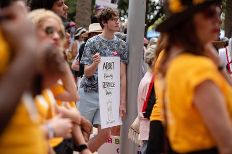 Abortion Rights March - Orlando, FL - Photography by Matt Keller Lehman