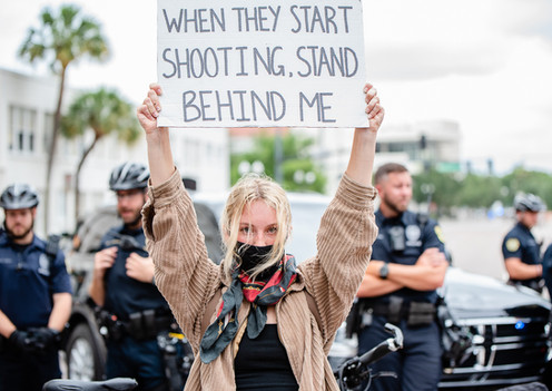 Orlando BLM Protests - Photography by Matt Keller Lehman