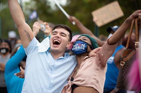 Biden Elect Celebration - Orlando, FL - Photography by Matt Keller Lehman