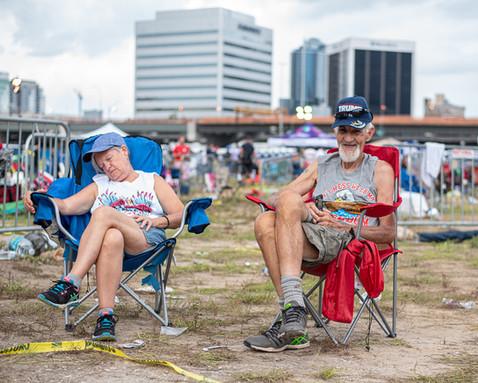 2020 Trump Rally  - Candid Photography - Photography by Matt Keller Lehman
