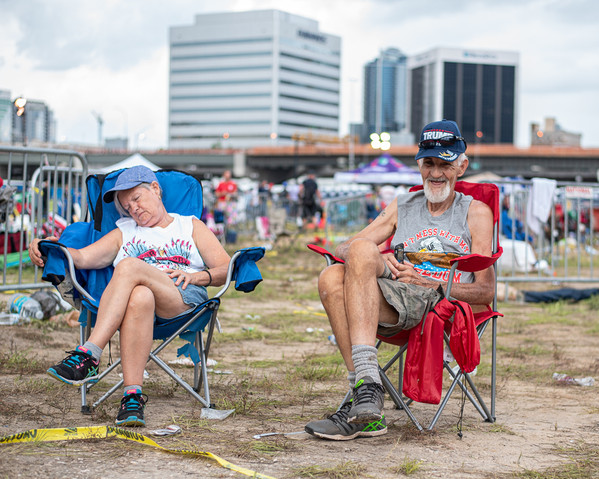 2020 Trump Rally  - Candid Photography - Photography by Matt Keller Lehman