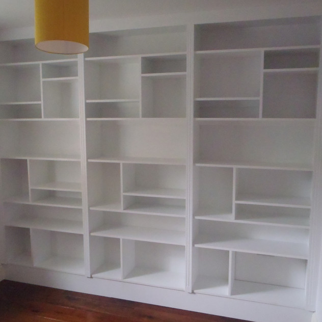 Bespoke Under Stairs Shelving: Brighton & Hove