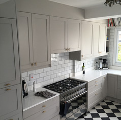 Kitchen refurb - bespoke cabinet doors and drawers