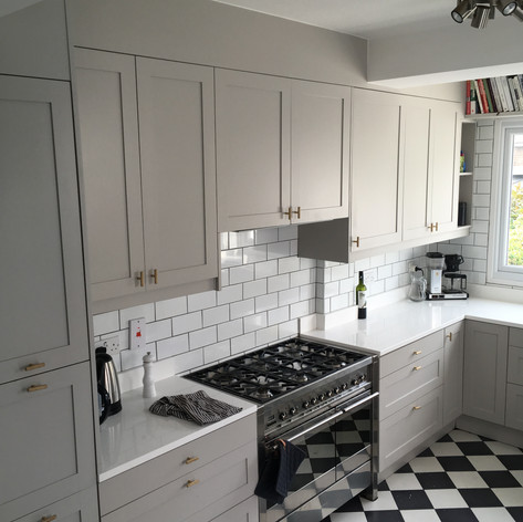 Kitchen refurb - bespoke cabinet doors and drawers