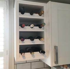 Wine rack and kitchen refurb
