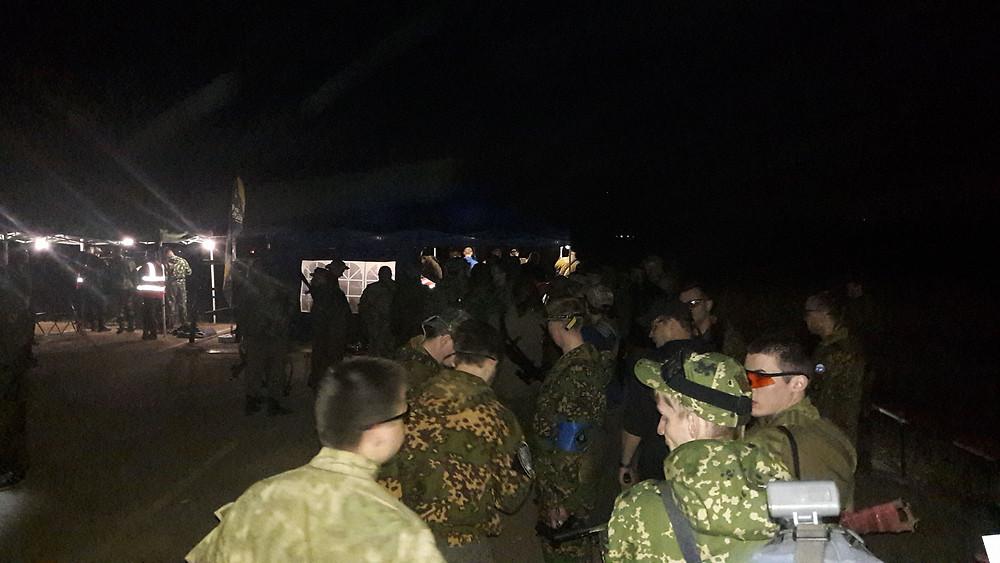 Хронирование оружия в ночь перед игрой