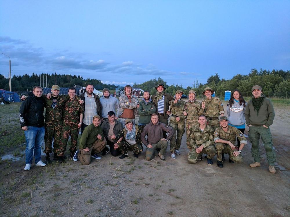 Страйкболисты МСК Бобры и МСК Wooden в Минске