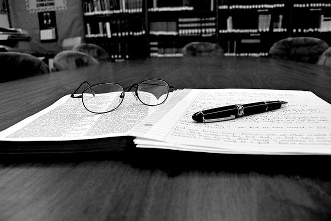 book pen glasses bw enhanced.jpg