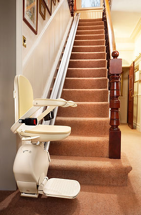 Brooks 130 Slimline Straight Stairlift