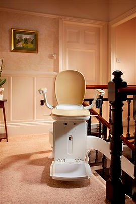 Curved Brooks Stairlift
