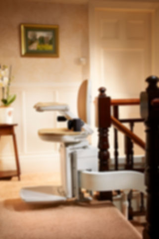 Brooks Curved Stair LIft