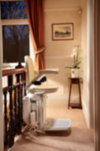 Brooks 80 Cuvred Stairlift