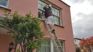 Window painting Bristol