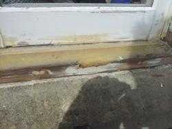Rotten timber repair Weston Mayor's