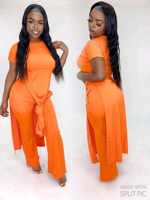Reverse orange 2 piece set