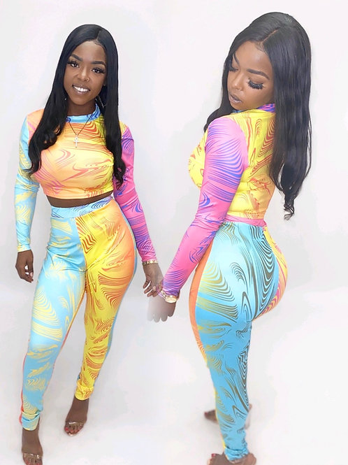 Swirl 2 piece set