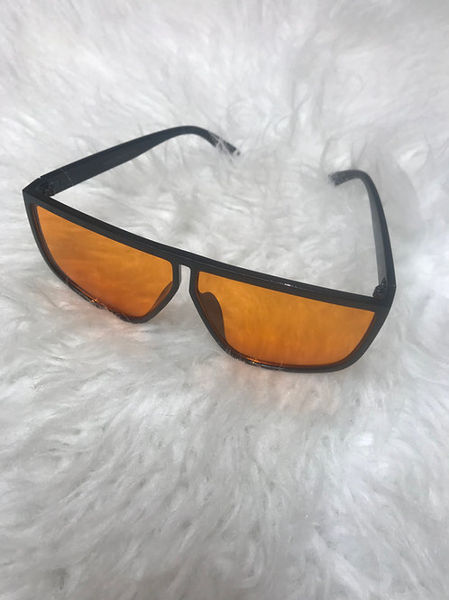 Kates orange sunglasses