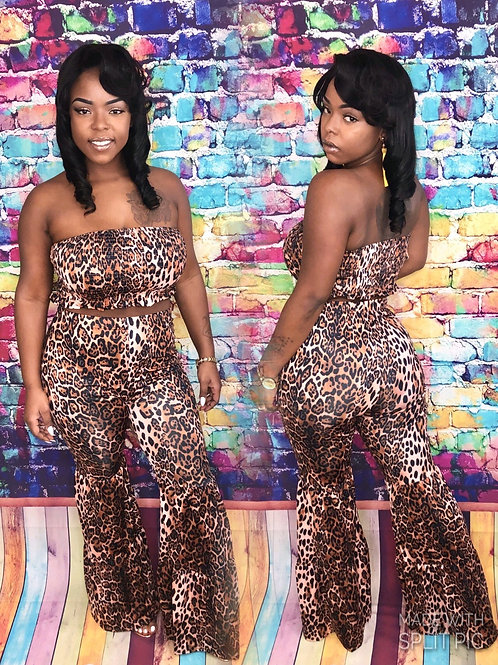 Leopard Print 2 piece set