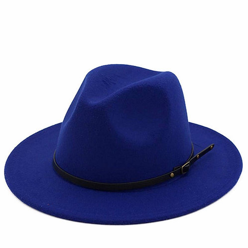 Royal Blue Fashion Hat