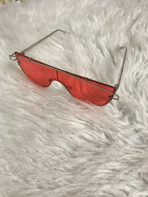 Red Lazer Sunglasses