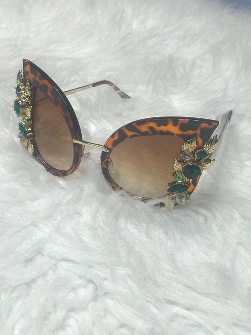 Cateye Leopard bling