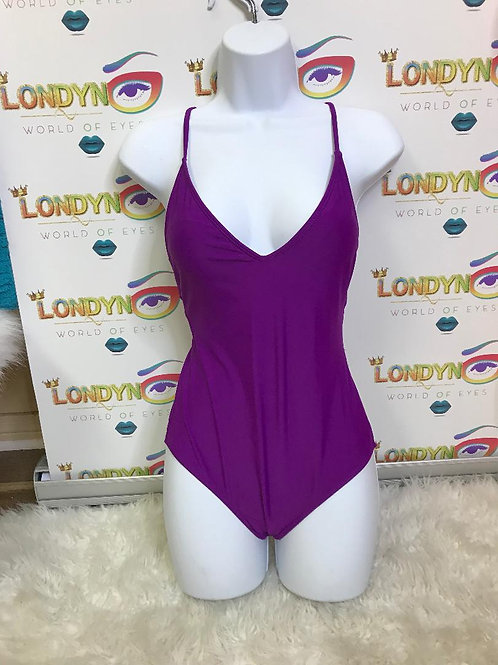 Londyn (purple) 1 piece swimsuits