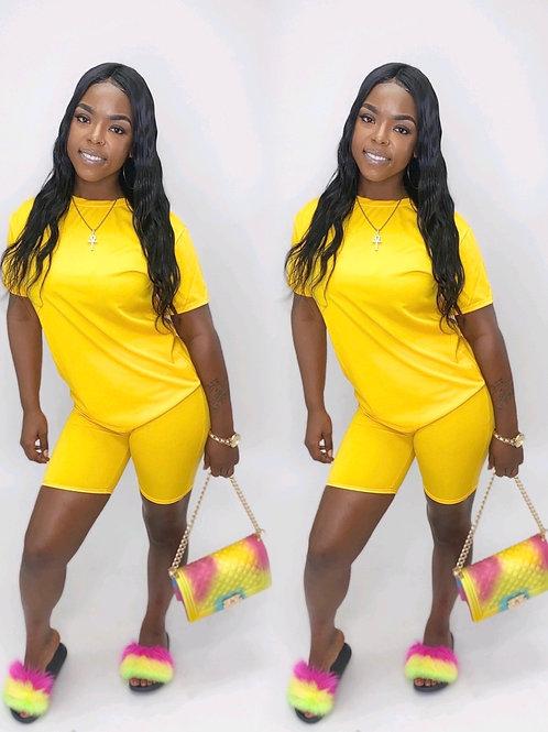 Mello yellow 2 piece set